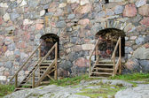Fortress Suomenlinna fortress wall. Finland. — Stock Photo