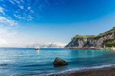 Seascape shot on the island of Capri. — Stock Photo
