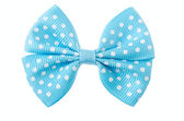 Blue ribbon bow. — Stock Photo