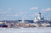 Helsinki winter. — Stock Photo