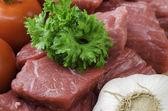 świeże mięso. — Zdjęcie stockowe