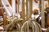 Ship's rigging — Stock Photo