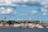 View of the old town of Stockholm — Stock Photo