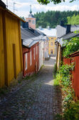 Old town of Porvoo. — Stock Photo