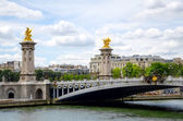 Alexander 3 bridge in Paris. — Stock Photo