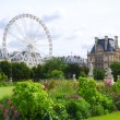 Tuileries garden side, Paris — Stock Photo #31090281