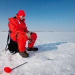 Fishing on ice — Stock Photo #2965306
