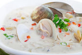 Clam Chowder — Stock Photo