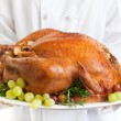Turkey Served — Stock Photo