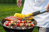 Summer Barbecue — Stock Photo