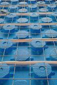Underfloor heating — Stock Photo