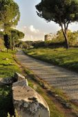Appia Antica Street in Rome — Stock Photo