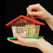 Investir em casa propriedade — Fotografia Stock