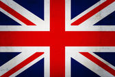 Great  Britain vintage flag — Stock Photo