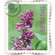 Stock Photo: Label for seasonal ads or calendars stylized as post stamp