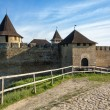 Old Medieval Castle in Khotyn, Ukraine — Stock Photo #47324543