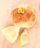 Lemon muffin — Stock Photo