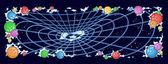 Cosmic web — Stock Vector