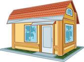 Modern house — Stock Vector
