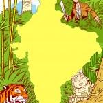 Постер, плакат: Adventures in Africa