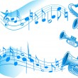 Stock Vector: Music