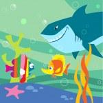 Cartoon fish — Stock Vector #27081625