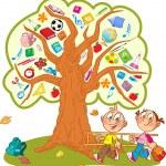 School tree — Stock Vector #28624581