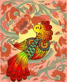 神话般的鸟 — 图库矢量图片