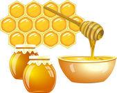 酿蜜 — 图库矢量图片