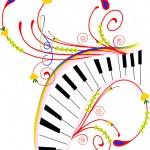 müzikal soyut — Stok Vektör #46238957