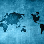 Scratch vintage world map — Stock Photo #13263544
