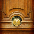 Old-fashioned wooden door - Foto de Stock