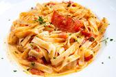 вкусные макароны — Стоковое фото