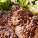 Juicy steak — Stock Photo #13473098