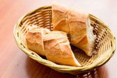 Bread in basket — Foto de Stock