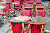 Empty coffee terrace — Stock Photo