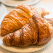 Fresh croissant - Stock Photo