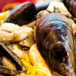 Traditionnal spanish food paella — Stock Photo #14133191