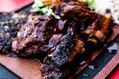 Gegrilde steak — Stockfoto