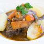 Juicy steak veal — Stock Photo #14496357