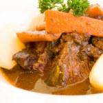 sulu biftek Dana eti — Stok fotoğraf
