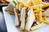 三明治 — 图库照片
