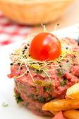 Rohe Rindfleisch — Stockfoto