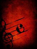 Grunge 的旋律纹理 — 图库照片