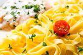 Tasty pasta — Stockfoto