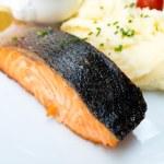 Grilled Salmon — Stock Photo #16403269