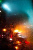 Defocused urban abstract — Stock Photo