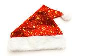 Red Santa Claus hats — Stock Photo