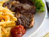 Saftig stek — Stockfoto