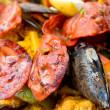 Stock Photo: Spanish food paella